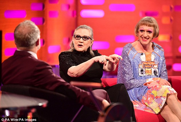 carrie fisher on graham norton show