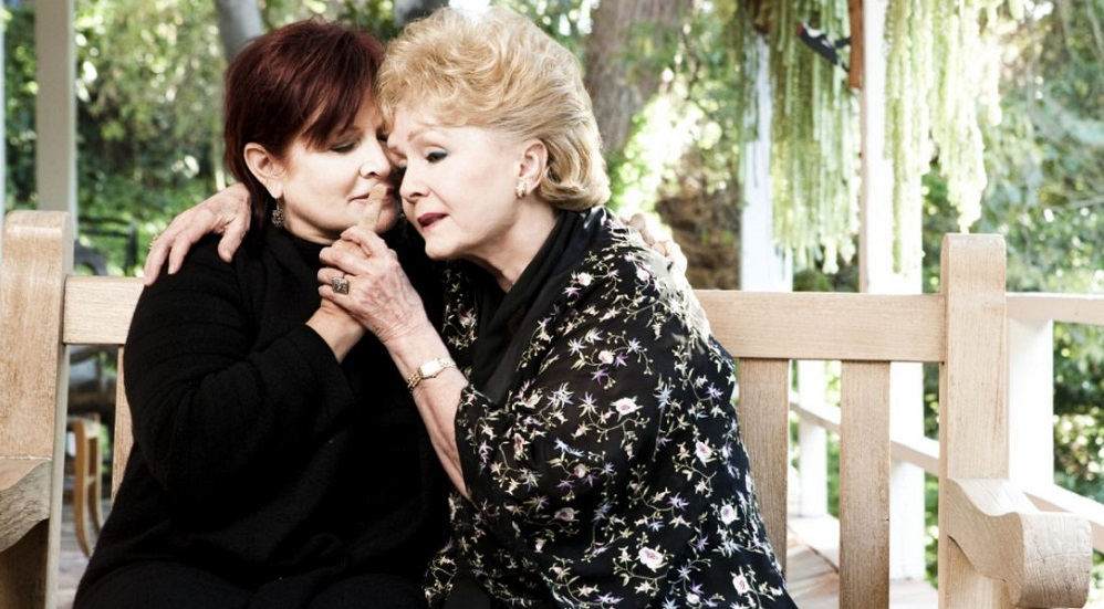 carrie fisher will be buried with mother debbie reynolds 2016 images