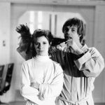 carrie fisher with mark hamill star wars