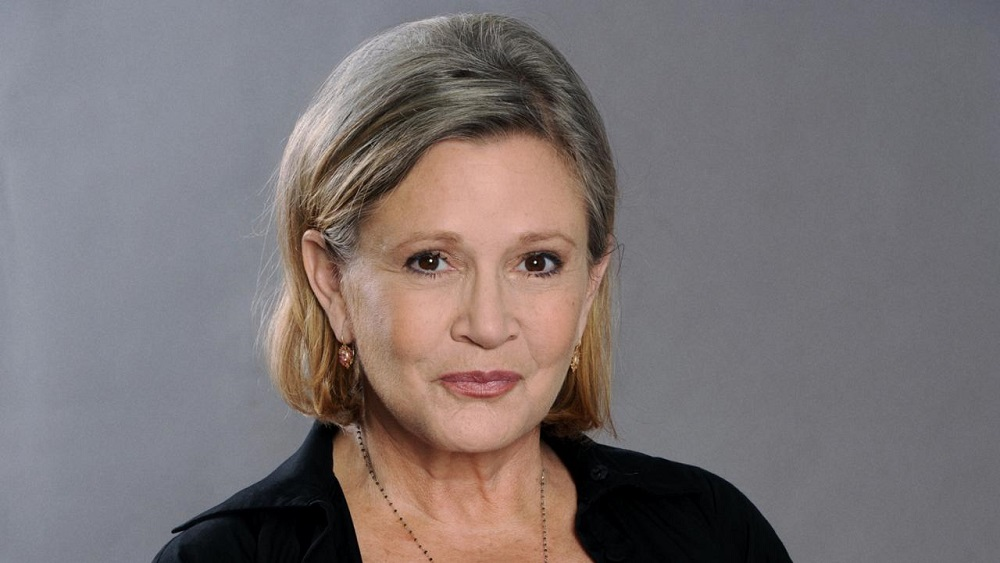 Carrie Fisher's condition critical after airplane heart attack 2016 images