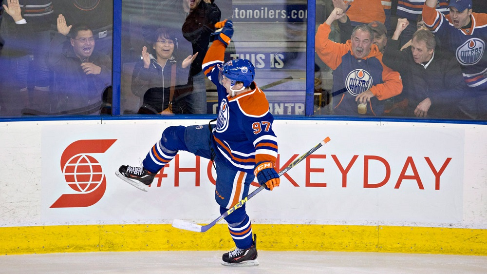 Columbus, Connor McDavid, Devan Dubnyk tops as NHL breaks 2016 images