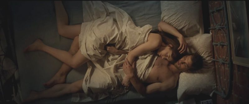 dakota johnson jamie dornan bed fifty shades darker images 2017