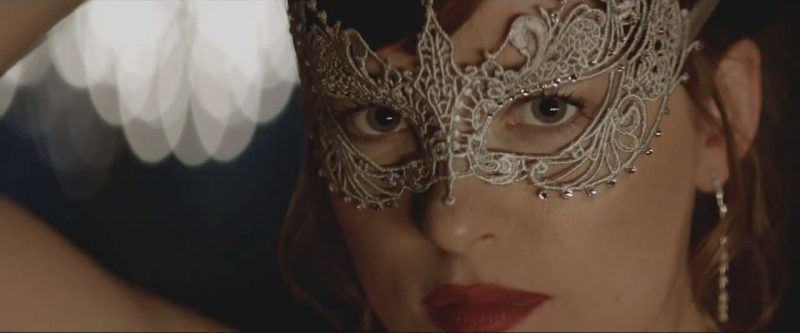 dakota johnson la perla mask fifty shades darker movie