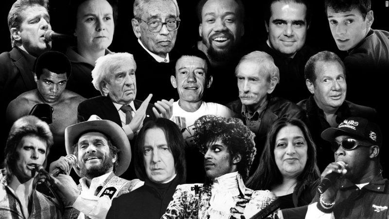 dead celebrities 2016
