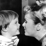debbie reynolds with young carrie fisher