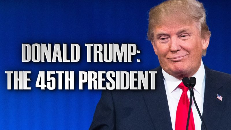 donald trump becomes 45th president