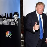donald trump doing apprentice in spare time while running america 2016 images
