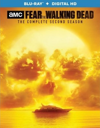 fear the walking dead season 2 blu ray box