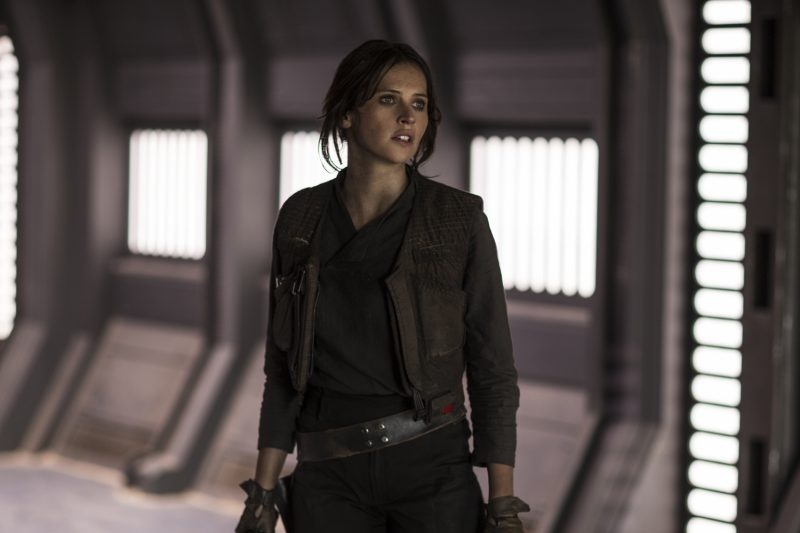 felicity jones in rogue one a star wars story movie shots
