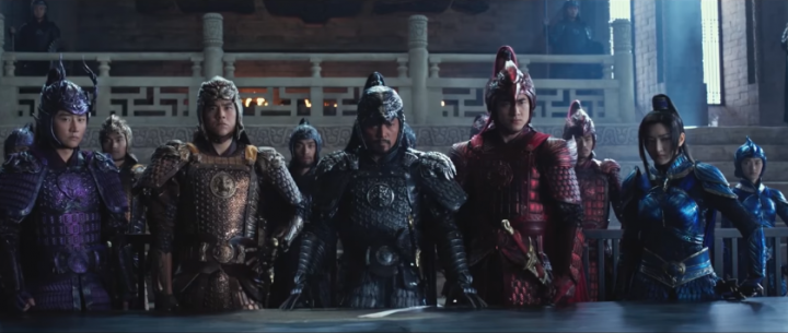 great wall asian cast movie