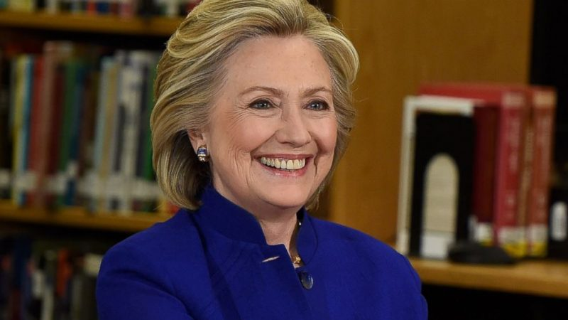 hillary clinton most inspiring celebrities of 2016