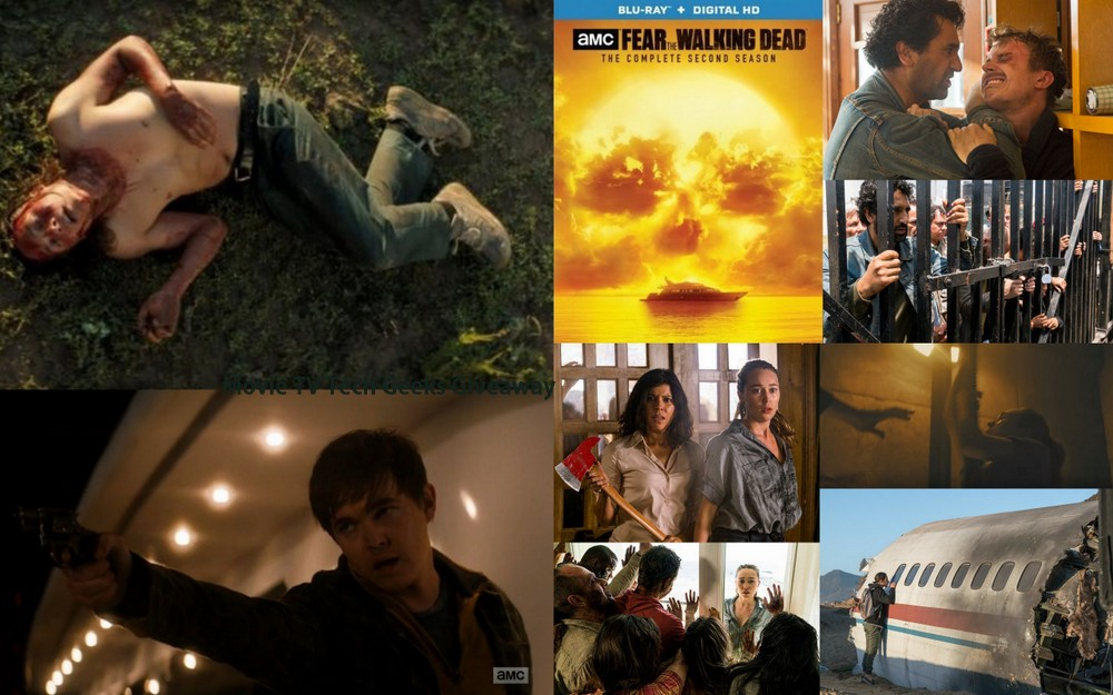 Holiday Cheer for 'Fear the Walking Dead' Season 2 Blu-ray Giveaway 2016 images