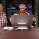 leo laporte with surface studio review images