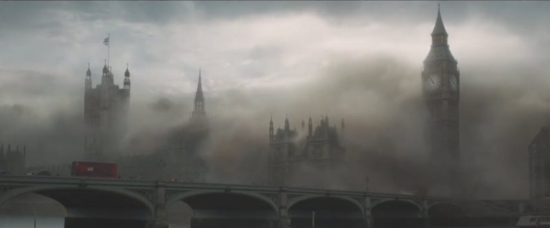 london destroyed from mummy images