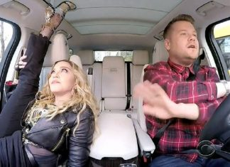 madonna goes deep with james cordens carpool karaoke 2016 images