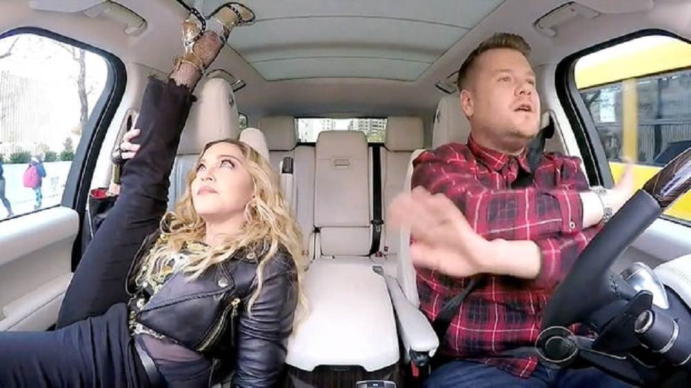Madonna goes deep with James Corden's Carpool Karaoke 2016 images