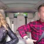 madonna vogues out with james corden