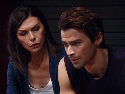 matt cohen with finola hughes on general hospital