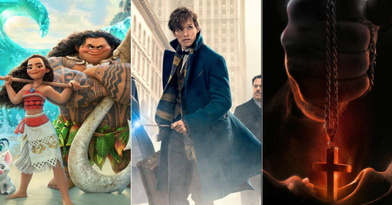 moana fantastic beasts and incarnate hit box office top 10 charts