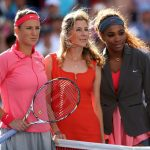 monica seles with serena williams