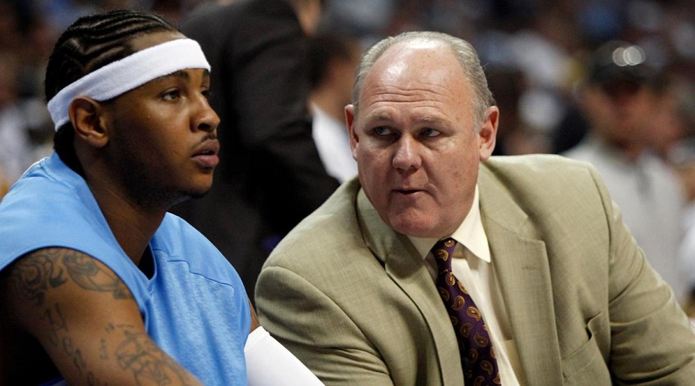 NBA with Carmelo Anthony after George Karl takes aim with book 2016 images