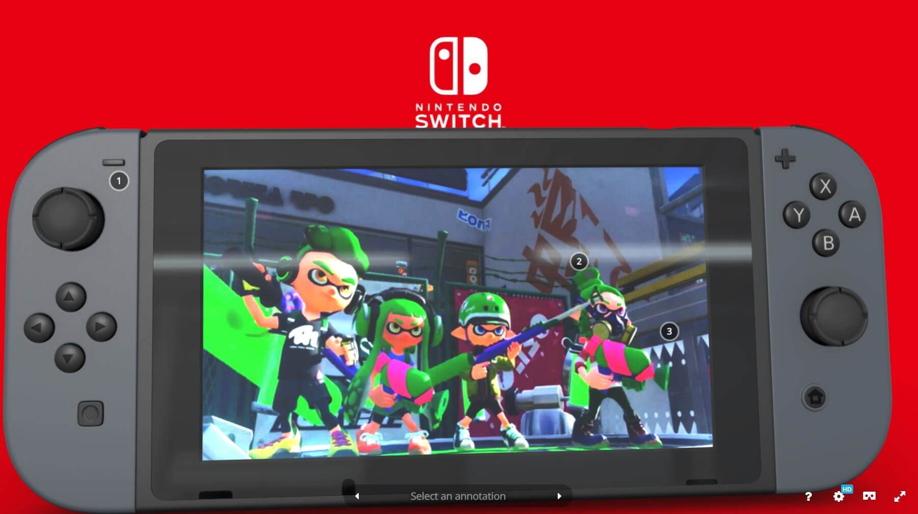 nintendo switch console tour hitting 2017
