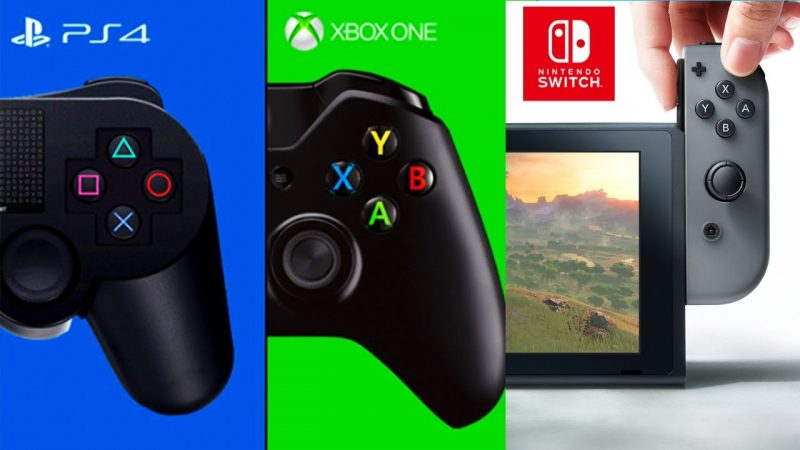 nintendo switch vs ps4 vs xbox one 2016
