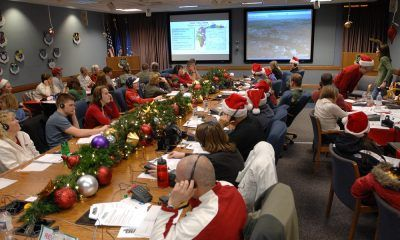 norad ready to track santa claus on christmas eve 2016 images
