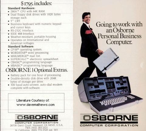 osborne old style lasptop computer