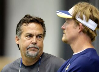 rams jeff fisher and les snead toxic relationship gets worse 2016 images
