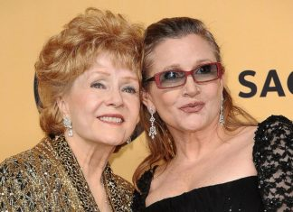 rip debbie reynolds actress mother of carrie fisher has died at 84 2016 images