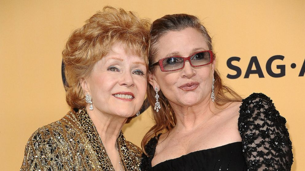 rip debbie reynolds actress and carrie fisher s mother dies at 84
