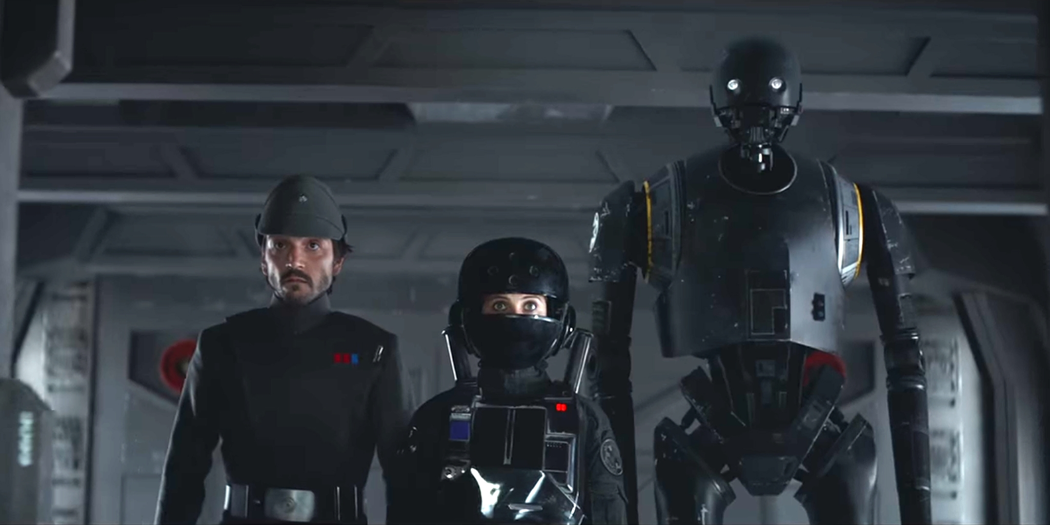 disney gives a sweet nearly half hour rogue one a star wars story tease 2016 images