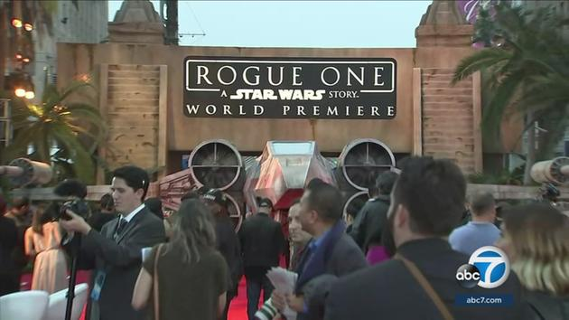 rogue one red carpet premiere