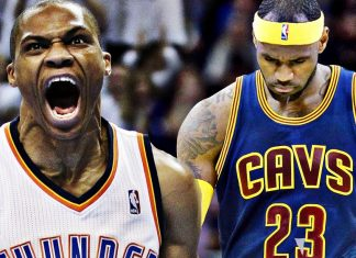russell westbrook gets energizing endorsement from lebron james 2016 images