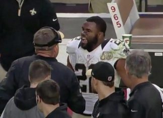 saints mark ingram apologizes for explosive side coming out 2016 images