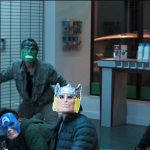 spider man homecoming thieves wearing avengers costumes 2016