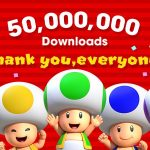 super mario brothers 50 million downloads 2016