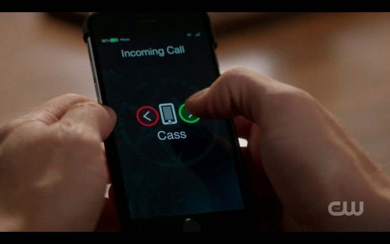 supernatural 1207 cass on smartphone