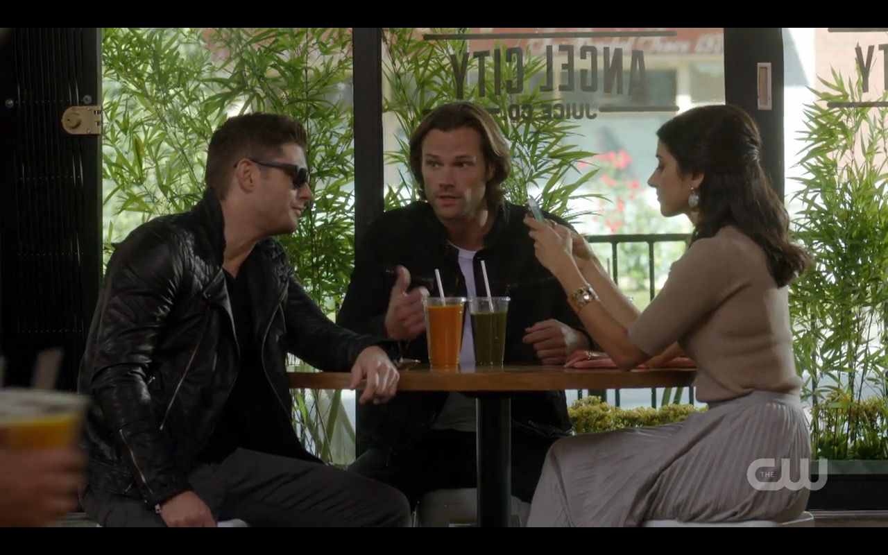 Winchesters in Leather! Rock Never Dies for Supernatural