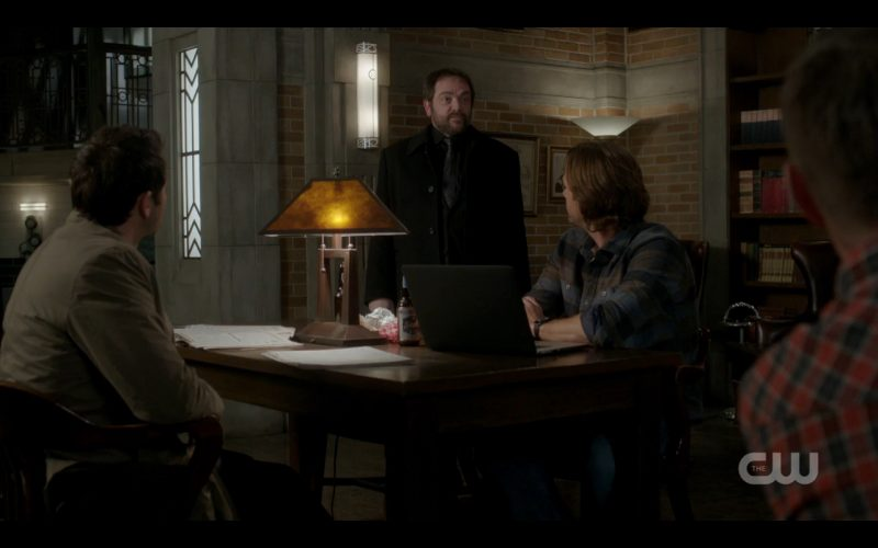 supernatural 1208 lotus crowley flannel with winchesters