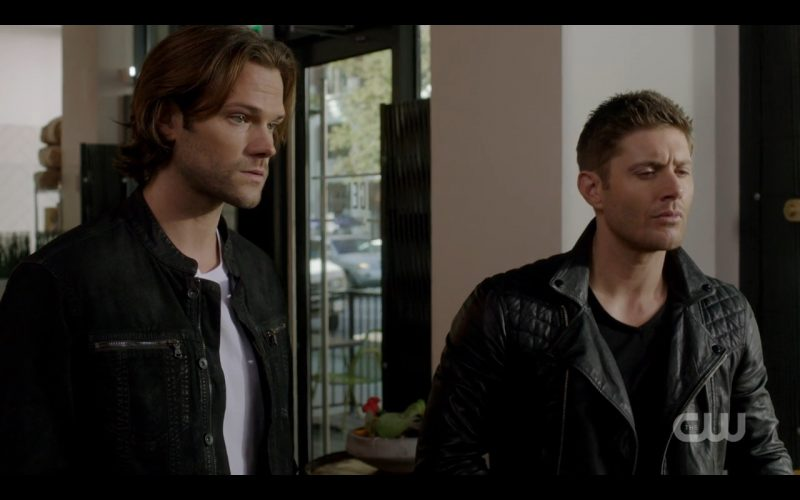 supernatural rock never dies winchester brothers working leather scene 2016