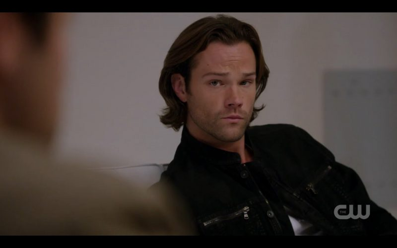 supernatural sam winchester leather boy look