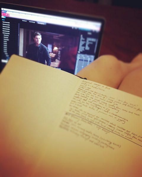 supernatural script in edit