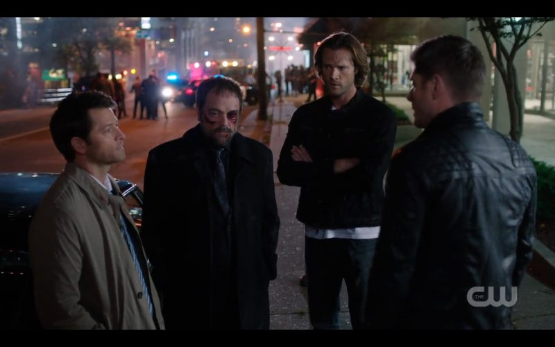 supernatural winchester brothers with crowley 1207