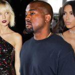 taylor swift feuds with kanye west and kim kardashian