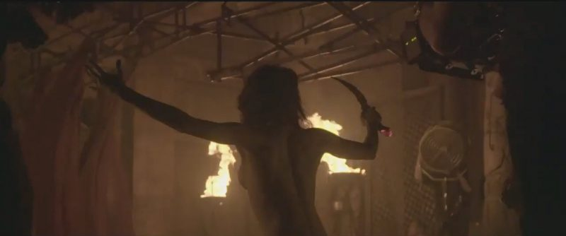 the mummy female fire