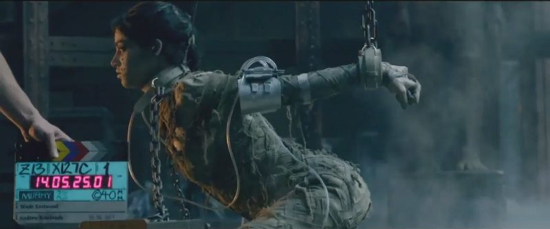 the mummy shooting images