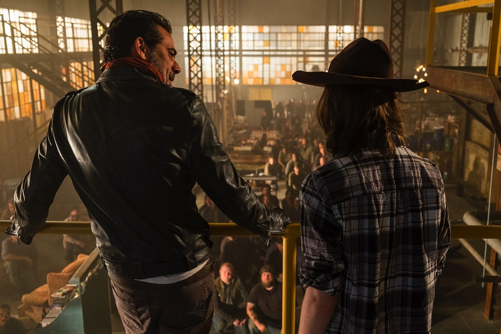 'The Walking Dead' 707 Sing Me A Song aka Carl's new daddy 2016 images