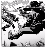 the walking dead carl shooting negans men
